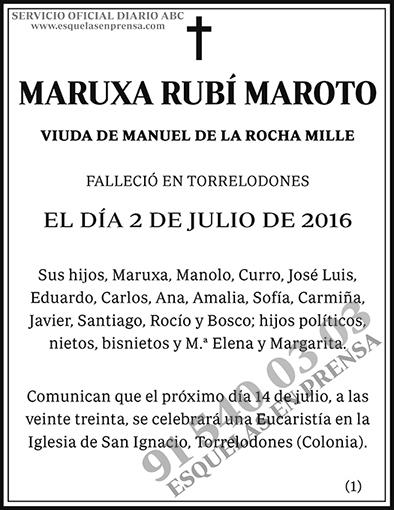 Maruxa Rubí Maroto